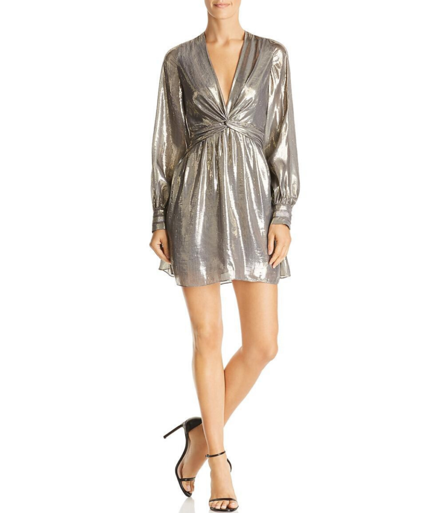 Ramy Brook Elise Dress Platinum