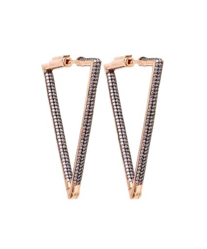nickho rey bermuda earrings light pink