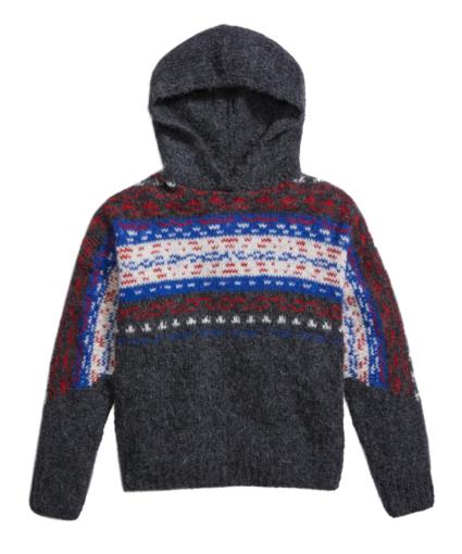 finlay hoodie charcoal rag & bone