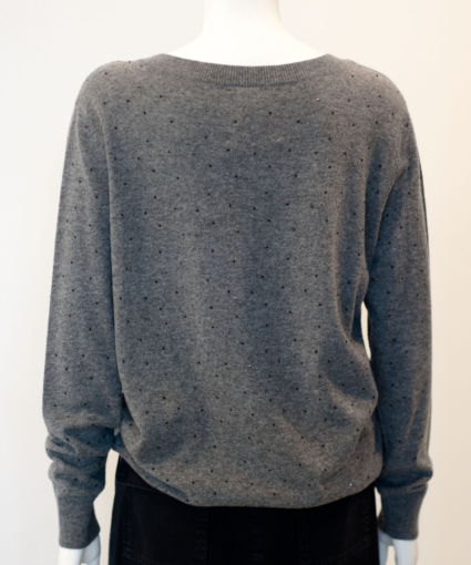 discoball sweater back