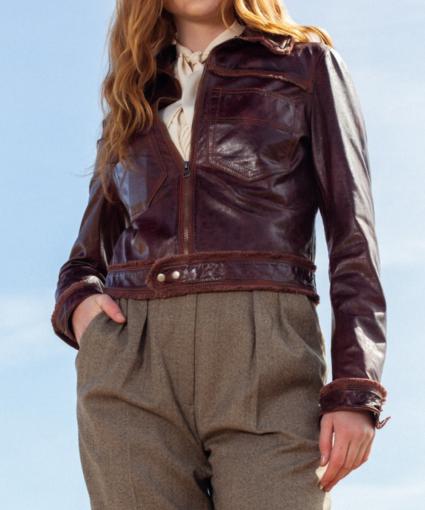 hayden jacket saddle jakett