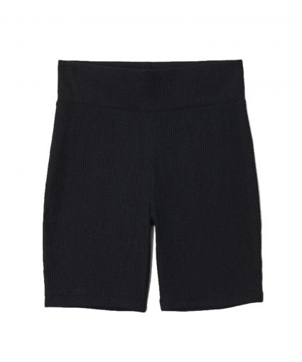 The Knit Rib Biker Short Black Rag & Bone