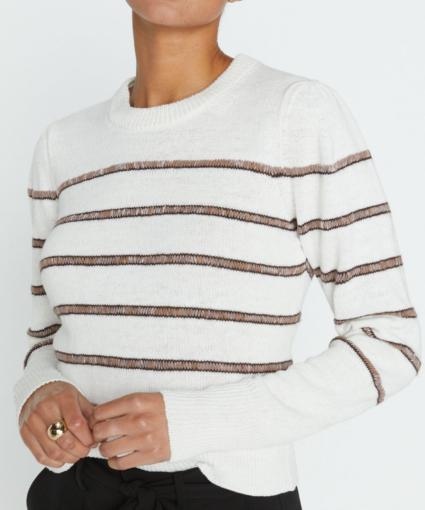 danon sweater taos stripe brochu walker