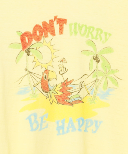 don't worry be happy close up lemon yellow redone
