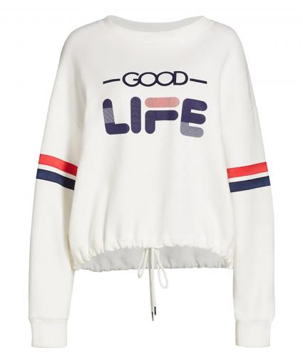 Good Life Champion Sweatshirt White Le Superbe