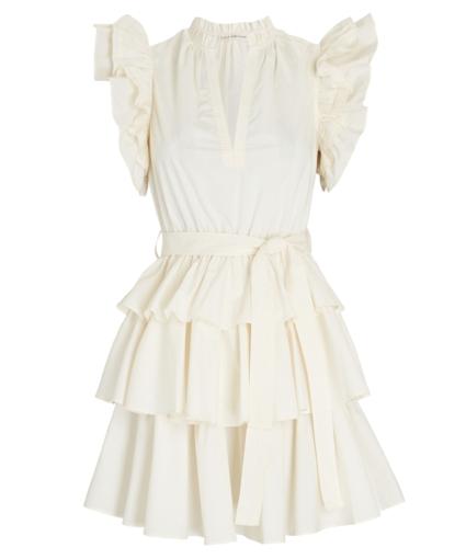 honoria dress blanc ulla johnson
