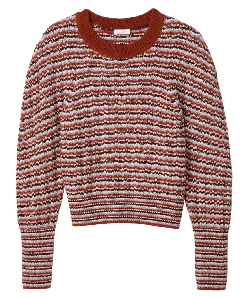 samara sweater amethyst multi a.l.c.