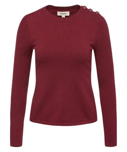 erica sweater dark wine