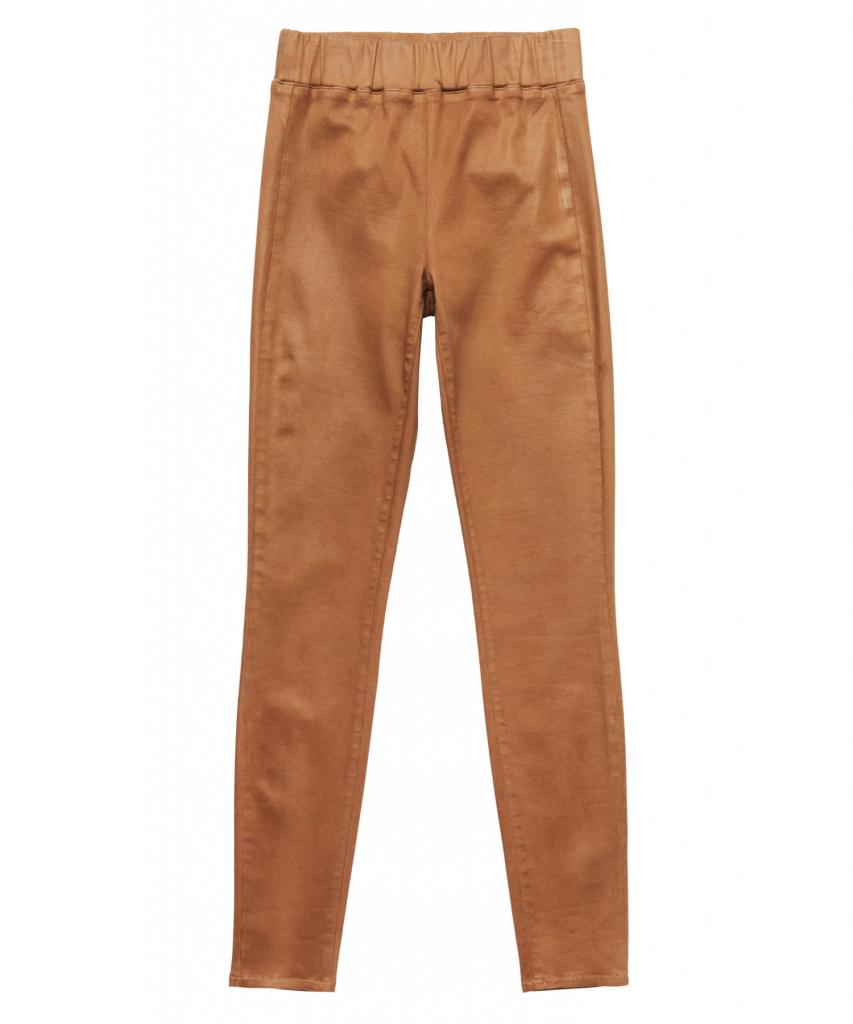rochelle pull on skinny jean hazelnut coated l'agence
