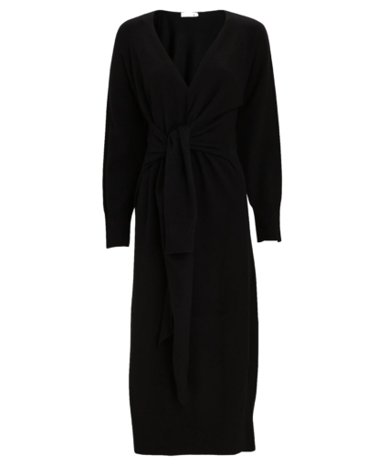 skyla knit midi dress black jonathan simkhai