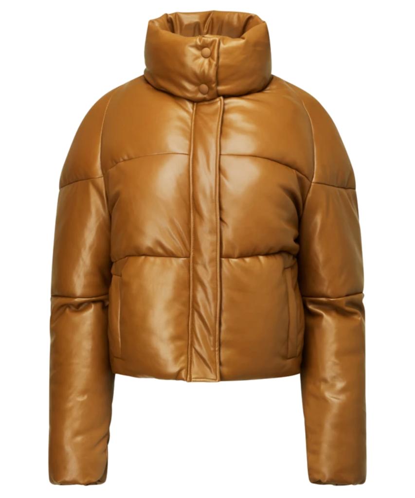 apparis camel jemma puffer jacket